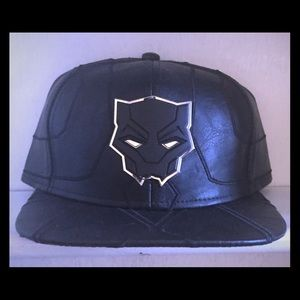 Black panther Cap